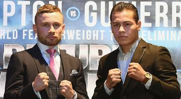frampton v gutierrez fight week: public workout, press conference and weigh-in details
