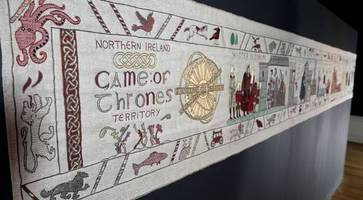 watch: new scenes added to game of thrones tapestry at ulster museum