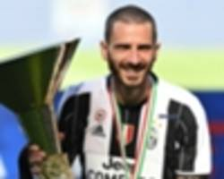 'i sent 10 messages a day!' - montella pestered milan chiefs to sign bonucci