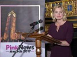 justine greening: cofe should allow gay marriages