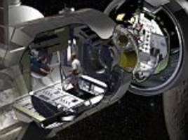 Space shuttle cargo container recycled as Mars habitat