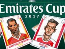 competition: win tickets to the emirates cup