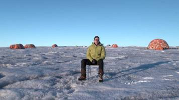 Scientist describes life on the ice in Greenland