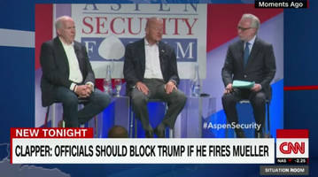 Former CIA Director Calls For A Coup If Trump Fires Mueller