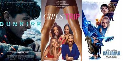 box office: 'dunkirk' and 'girls trip' exceed expectations, 'valerian' bombs