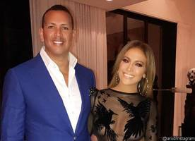 Jennifer Lopez Flaunts Hot Bod in Sheer Mini Dress When Celebrating Her Birthday With Alex Rodriguez