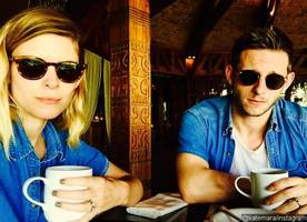 Newlyweds Kate Mara and Jamie Bell Flaunt Wedding Rings in Cute Pic