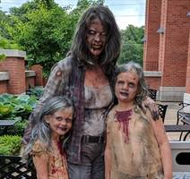 fans dress as zombies for george romero memorial at toronto cemetery