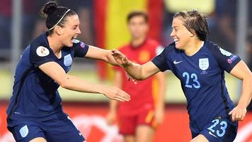 Watch highlights of England women's controversial Euro 2017 win over Spain