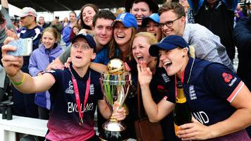 from sleeping at the stadium to front-page news - the transformation of women's cricket