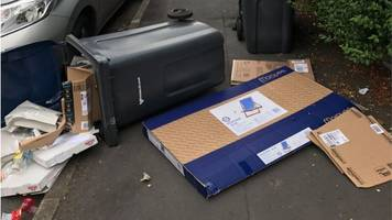uncollected rubbish in birmingham 'attracting rats'