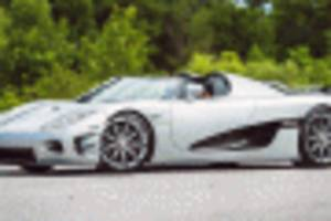 Floyd Mayweather's $4.8M Koenigsegg CCXR Trevita heads to auction