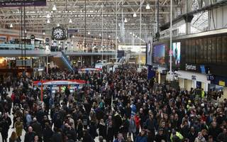 commuters warned to avoid waterloo station due to signal failure chaos