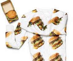 mcdonald's to give away free big mac hoodies to celebrate mcdelivery day
