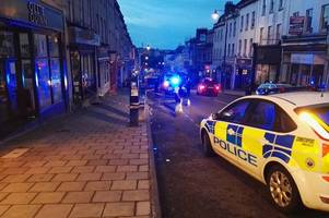 Police review Park Street CCTV after stabbing