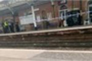 devon girl, 17, stabbed at railway station - woman charged with...