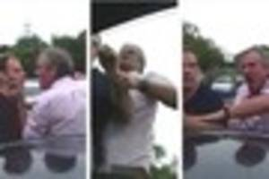 bbc producer filmed in vile road rage video threatening a...