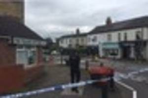 Gun drama in Water Orton as road sealed by police