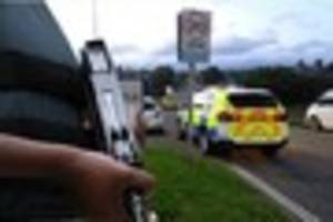 No action taken against man shot with baton round by police