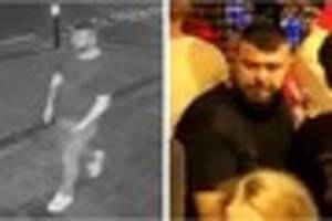 Police are still looking for this man in relation to a shocking...