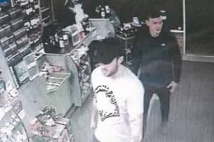 CCTV images released after stolen credit cards used at Spar