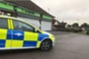 essex police hunt for information after armed robbery involving...
