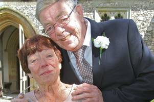 joan and hubert get married - after love blossoms through bvm letters page