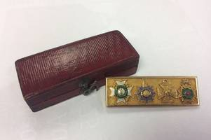 medals awarded at the battle of waterloo to go under the hammer at etwall auction house