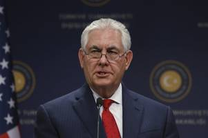 Report: Tillerson Considering 'Rexit' After Sessions Outcry,  U.S. Sanctions  Violation Report