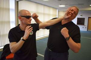 Blind martial artist giving people the chance to learn how to defend themselves
