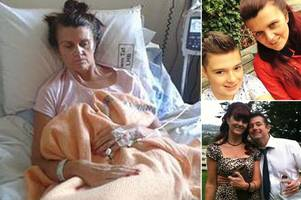 mum given 'eight weeks to live' as heartbroken family claims doctors mistook cancer as depression for two years