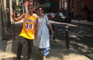 photos: sonam kapoor enjoys her vacation in new york with rumoured beau anand ahuja