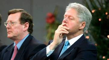 bill clinton's praise for trimble after he got uup's 'crazies' to agree to power-sharing