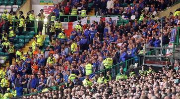 Life-time ban for Linfield fan who sang Super Rangers at Celtic tie