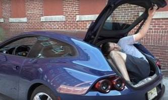 Ferrari GTC4Lusso Luggage Compartment Is Large Enough For Doug DeMuro