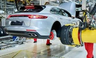 Porsche Starts Panamera Sport Turismo Production At Leipzig Factory