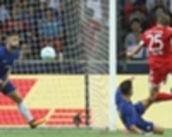 chelsea 2 bayern munich 3: muller at the double as bayern bounce back