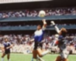 var would have ruled out 'hand of god' goal, maradona admits