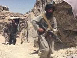 taliban fighters say russia is supplying them with weapons