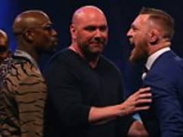 Floyd Mayweather & UFC chief Dana White cross paths again