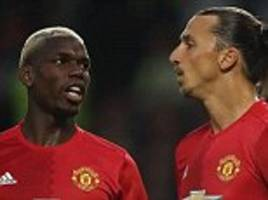 Paul Pogba: Zlatan Ibrahimovic still has Man Utd influence