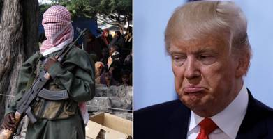 al-shabaab propaganda video bashes brainless billionaire trump as stupidest president a country could have