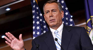 boehner bashes gop - will never repeal & replace obamacare, it's been around too long