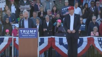 trump implies jeff sessions only endorsed him because of his crowd sizes