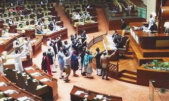 sindh assembly passes resolution calling for pm's resignation