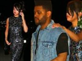 selena gomez holds onto the weeknd