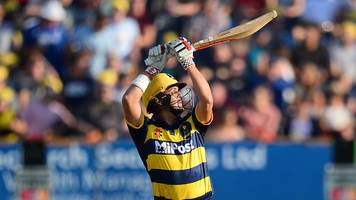 t20 blast: jacques rudolph and david miller inspire glamorgan win over gloucestershire