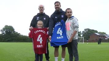 ipswich town to have each charity name on shirts