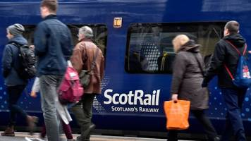 scotrail passenger satisfaction increases to 90%
