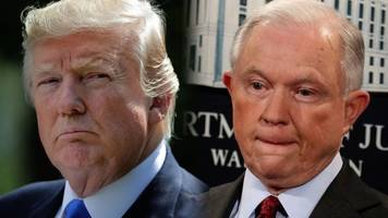 Trump on Sessions' Future As Attorney General: 'Time Will Tell'